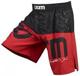 "Form Athletics Jon ""Bones"" Jones Red and Black Fight Shorts"